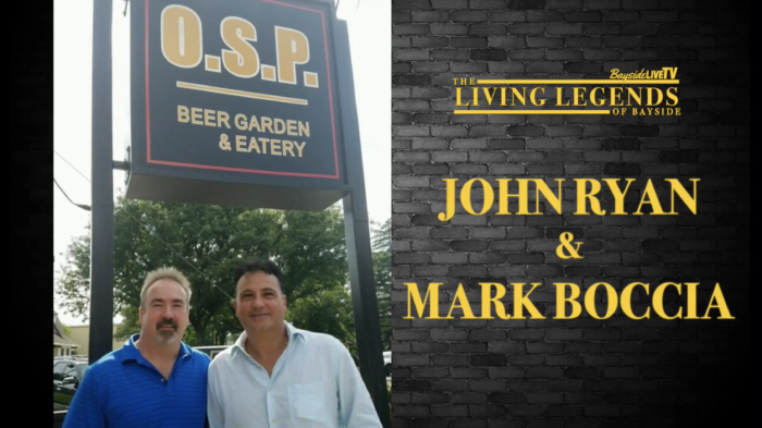 Living Legends of Bayside: John Ryan and Mark Boccia