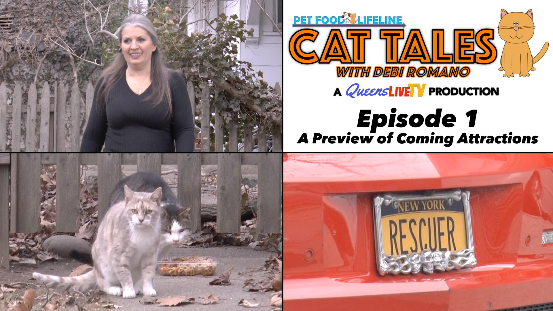 Cat Tales with Debi Romano : Episode 1 – A Preview of Coming Attractions