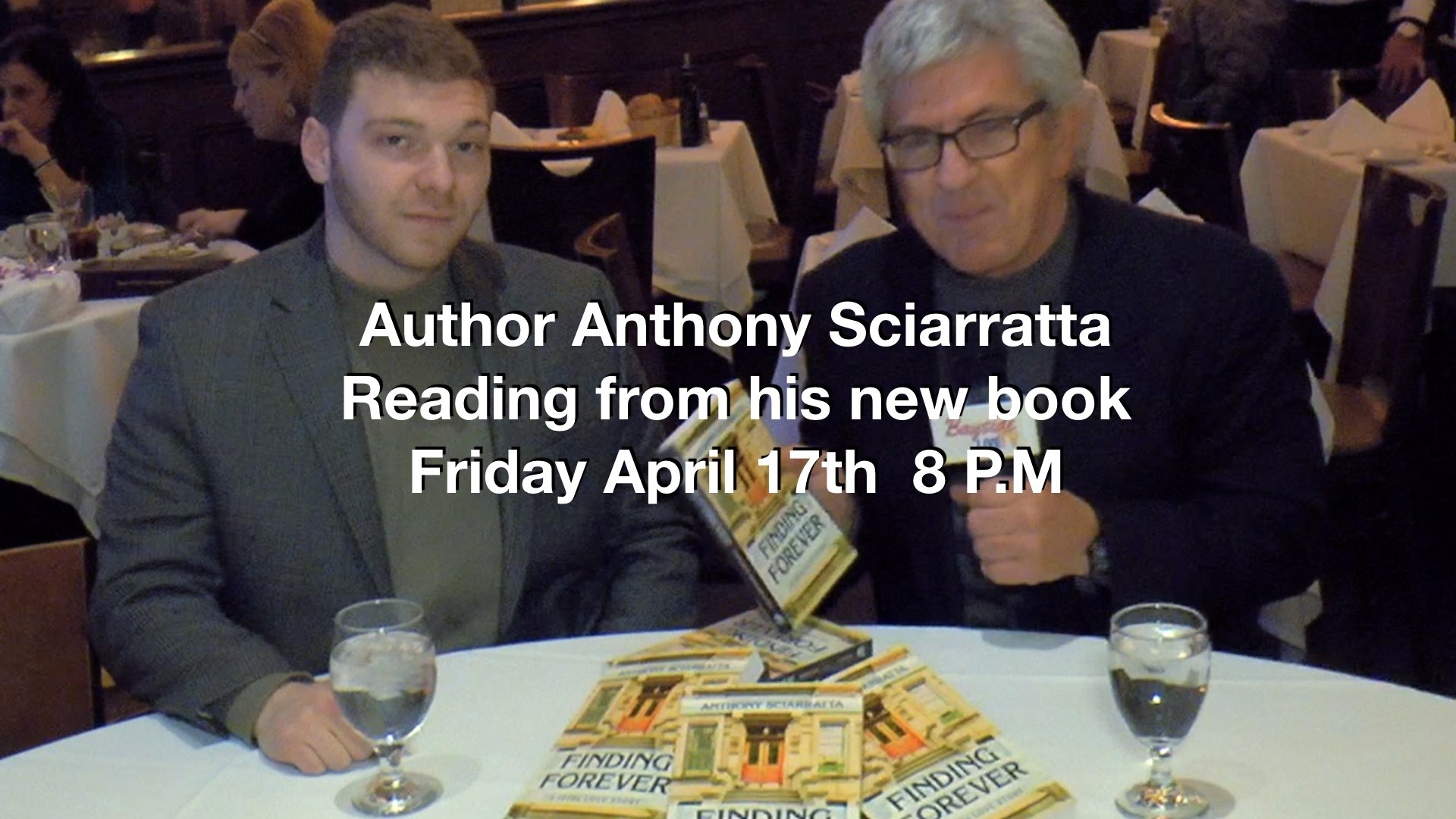 Author Anthony Sciarratta Reads from his new book