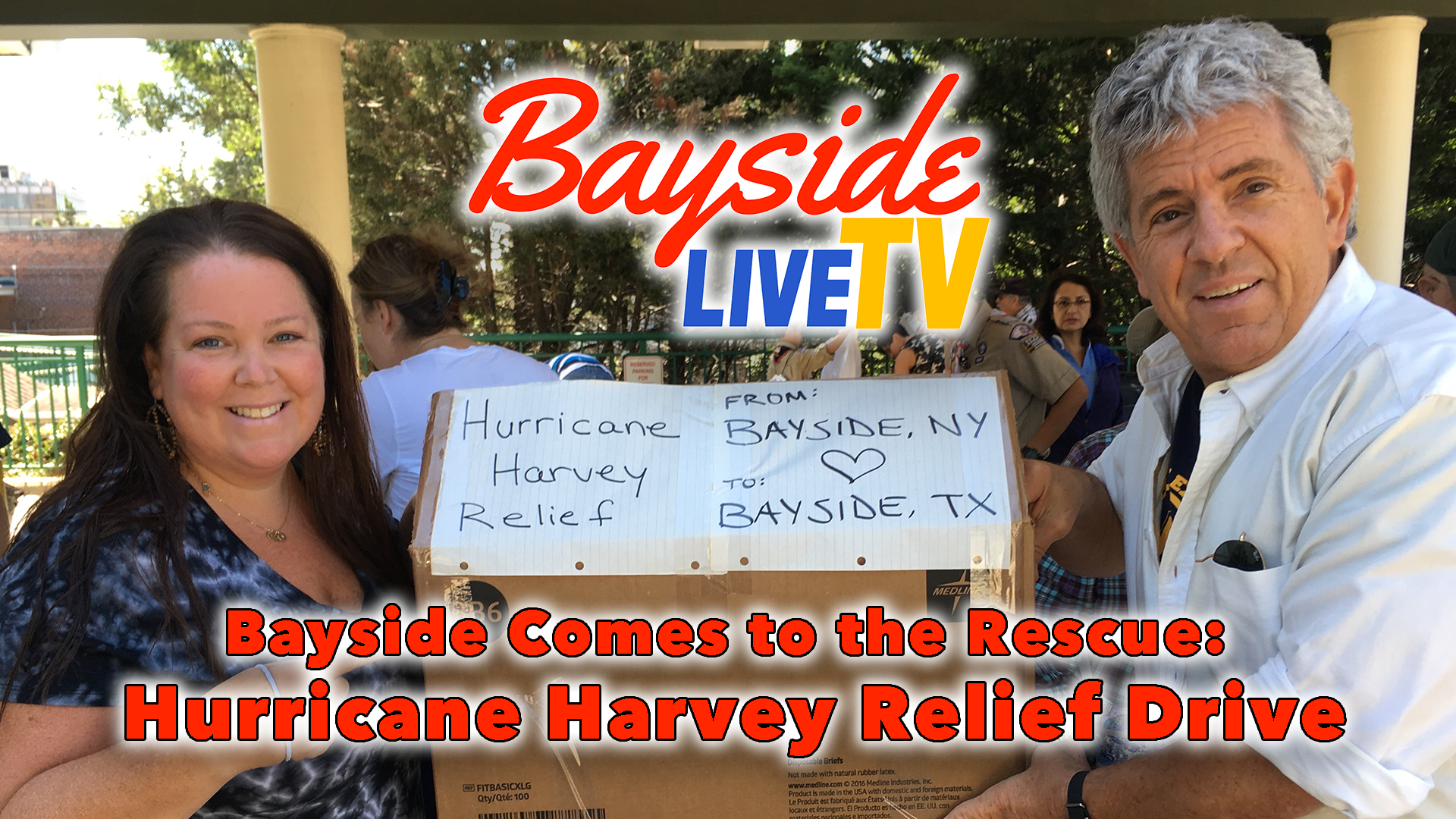 Bayside Comes to the Rescue: Hurricane Harvey Relief Drive
