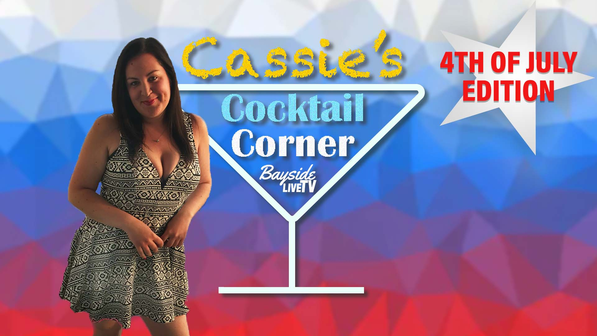Cassie's Cocktail Corner: Fourth of July Special