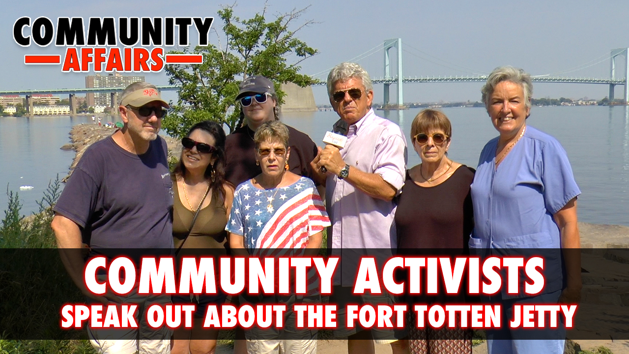 "Community Activists' ""Call to Action"" to Change the Condition of the Fort Totten Jetty"