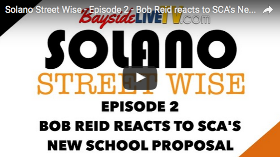 Solano Street Wise – Episode 2 – Bob Reid reacts to SCA's New School Proposal
