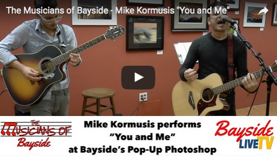 "The Musicians of Bayside – Mike Kormusis ""You and Me"""