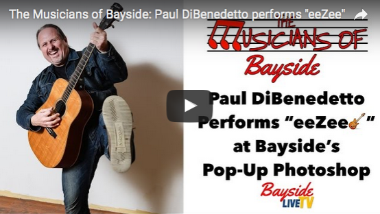 "The Musicians of Bayside – Paul DiBenedetto performs ""eeZee"""