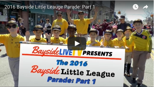 2016 Bayside Little League Parade