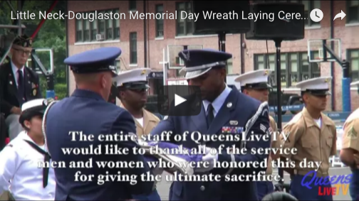 Little Neck-Douglaston Memorial Day Wreath Laying Ceremony
