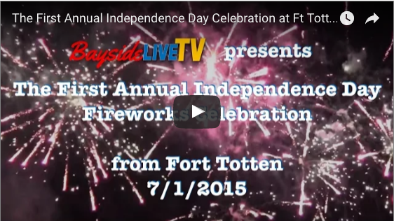 The First Annual Independence Day Celebration at Ft. Totten