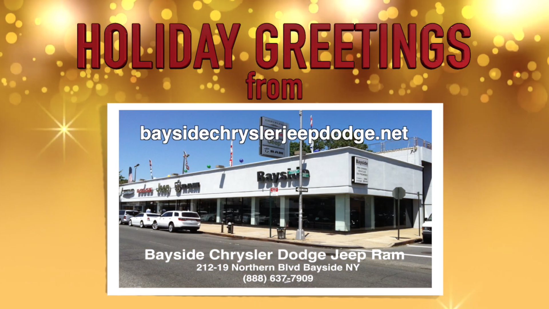 Bayside Chrysler Holiday Greetings