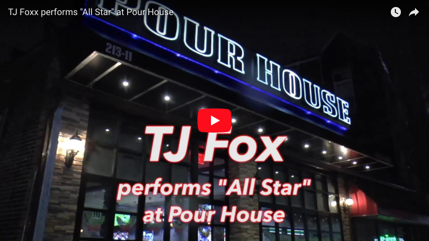 "TJ Fox performs ""All Star"" at Pour House"