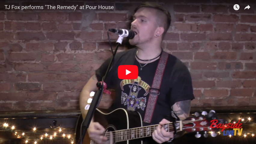 "TJ Fox performs ""3AM"" at Pour House"