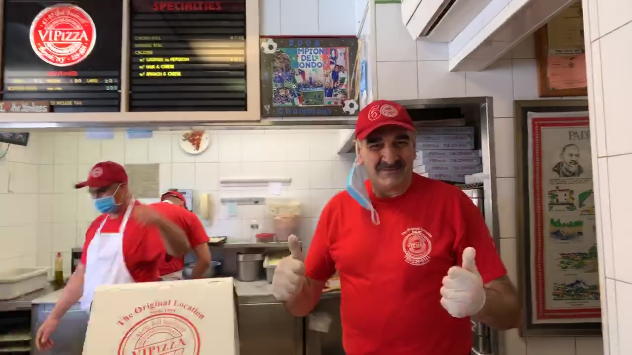 VI Pizza prepares Pizza for School Safety Agents – The Forgotten Front Liners