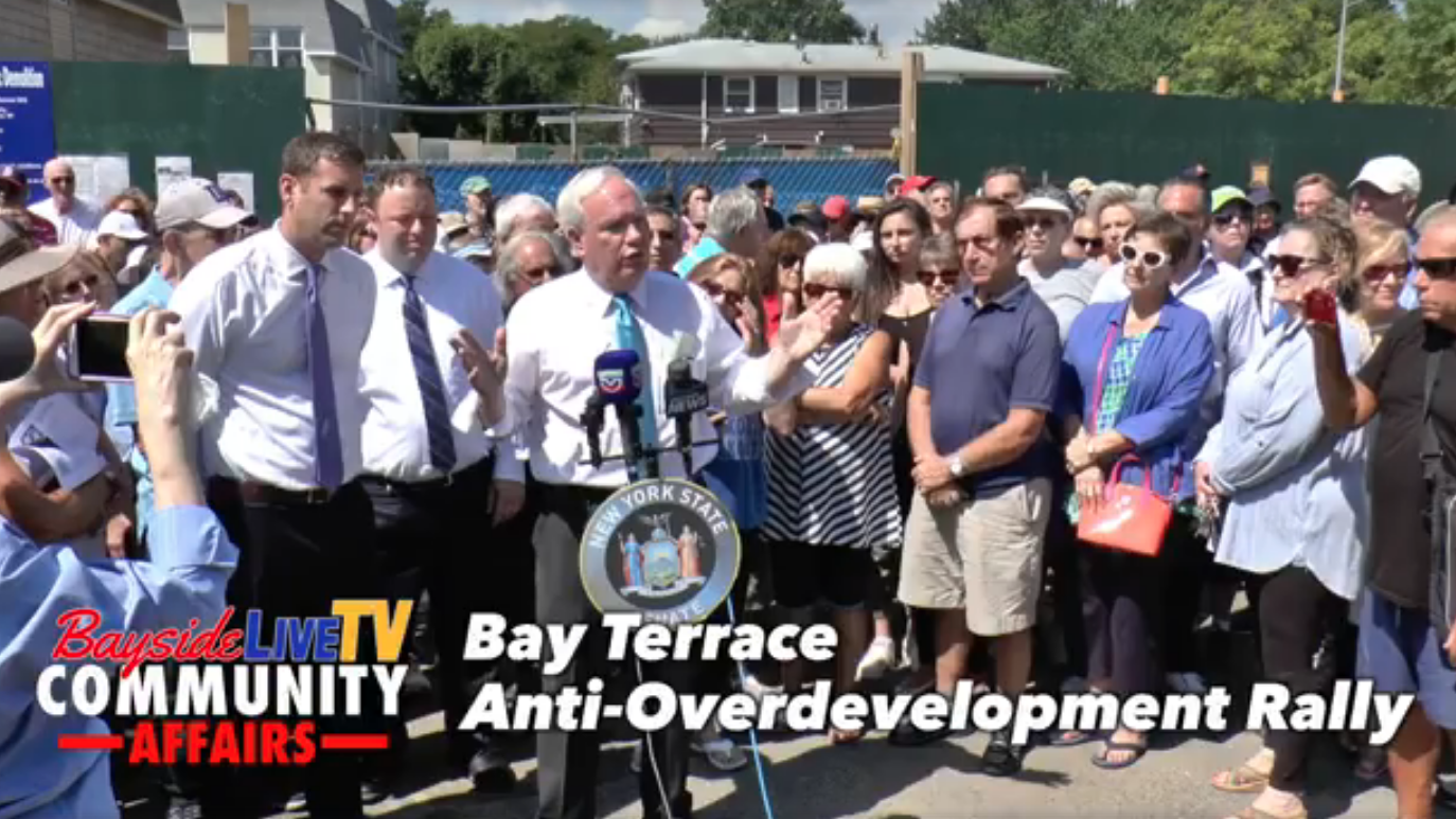 Bay Terrace Anti-Overdevelopment Rally